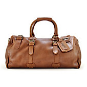 "Rawlings Vegetable Tanned Leather 23"" Duffel - Brown"