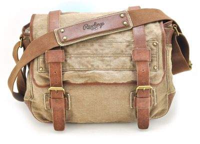 Rawlings Hemp NS Flap Messenger Bag