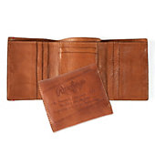 Rawlings Vegetable-Tanned Leather Trifold Wallet - Brown