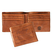 Rawlings Vegetable-Tanned Leather Bifold Wallet - Brown