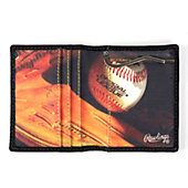 Rawlings Murano Baseball Field Leather Money Holder