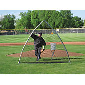 Morrow A-Screen Protective Baseball Pitching Screen