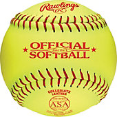 "Rawlings 11"" NCAA/ ASA Official Fastpitch Softball (Dozen)"