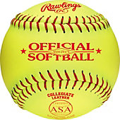 "Rawlings 12"" NCAA/ ASA Official Fastpitch Softball (Dozen)"