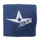 All-Star Logo 3.5-Inch Slim Wristband (Pair)