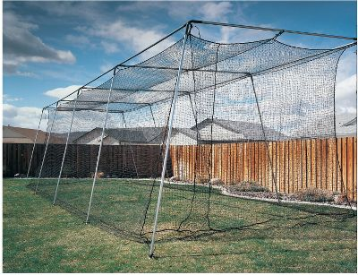 ATEC 40' Backyard Batting Cage Without Poles    Softball