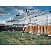 ATEC 40 FT BACKYARD BATTING CAGE WITHOUT POLES