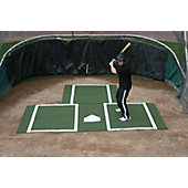 ProMounds Batting Mat Pro with Catcher's Extension