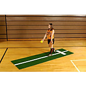 Trigon Softball Pitch Mat w/ Stride Line