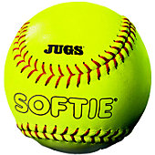 "JUGS 11"" SOFTIE YELLOW GAME BALL"