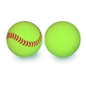 Jugs Sports Vision-Enhanced Small Yellow Balls (Dozen)