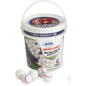 Jugs Sports Foam Small Balls with Bucket (4 Dozen)