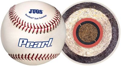 Jugs Sports Pearl Pitching Machine Baseball Dozen