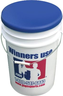 Jugs Sports Pearl Baseballs 4 Dz with Free Bucket