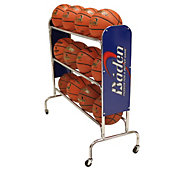 Baden 3-Row Steel Basketball Rack