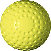 Atec Tuffy Dimpled Yellow Softballs (Dozen)