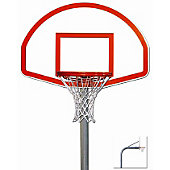 "Trigon Standard 4 1/2"" Gooseneck Playground Basketball Syste"