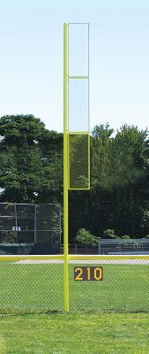 JayPro Collegiate 20ft Foul Pole   Softball Maintenance & Supply