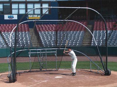 JayPro Sports Little Slam Portable Batting Cage   Softball Cages