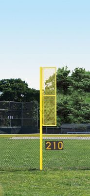 JayPro Baseball/Softball 12ft Foul Pole   Softball Maintenance & Supply