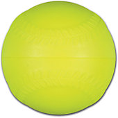Baseball Express Yellow Machine Foam Baseball (Dozen)