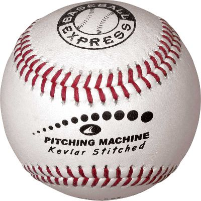 Baseball Express Kevlar Stitched Pitching Machine Baseball