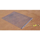 Trigon 3'W x 5'L Steel Drag Mat