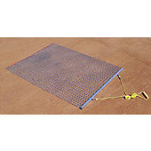 Trigon 6'W x 3'L Steel Drag Mat