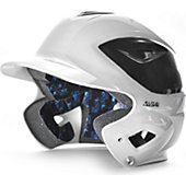 All-Star System Seven White 2-Tone Batting Helmet