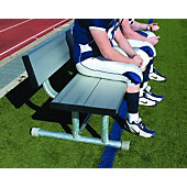 "Diamond Sports ""Big Ugly"" 15-Foot Aluminum Double Bench with"