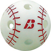 "Baden 9"" Training Poly Baseball with Red Seams (Dozen)"
