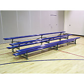 Jaypro 2 Row 28 Seat Tip N' Roll Bleachers