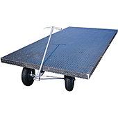Blazer 4'x8' Aluminum Floor Cart