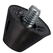 """Blazer 1/2"""" Nylon Steel Tip Football Replacement Cleats with"""
