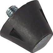 "Blazer 1/2"" Nylon Steel Tip Football Replacement Cleats (100"