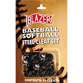 Blazer Baseball/Softball Steal Cleat Set (Pack of 14)