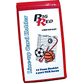 Blazer Lineup Card Holder with One Dozen Cards