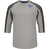 MAJESTIC Player Series Yth 3/4 Slv Perf Top