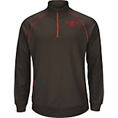 Majestic Youth Player Series 1/4 Zip Performance Pullover