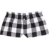 Boxercraft Women's Flannel Bitty Boxer Shorts