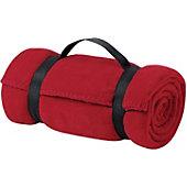 Port & Co. Value Fleece Blanket with Strap