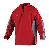 Rawlings Adult Long Sleeve Quarter-Zip Pullover Jacket