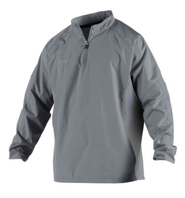 Rawlings Adult Long Sleeve Quarter-Zip Pullover Jacket