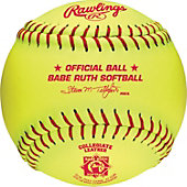 "Rawlings 12"" Babe Ruth Softball (Dozen)"