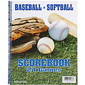 Glovers Baseball/Softball 24-Game Scorebook