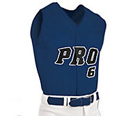 Champro Youth Mesh Full Button Sleeveless Baseball Jersey