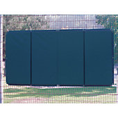 FOLDING BACKSTOP PADDING 4' X 6' YELLOW