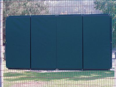 Standard Folding Backstop Padding 4' X 8'   Softball Maintenance