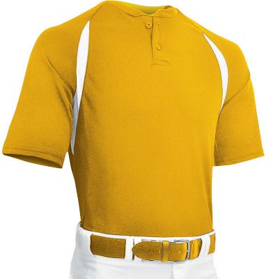Champro Men's Two Button Placket Jersey