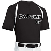 Champro Youth Two Button Placket Baseball Jersey